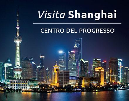 Visita Shanghai – Centro del progresso